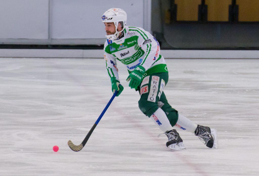 Tobias Holmberg, två målpass, ett mål.