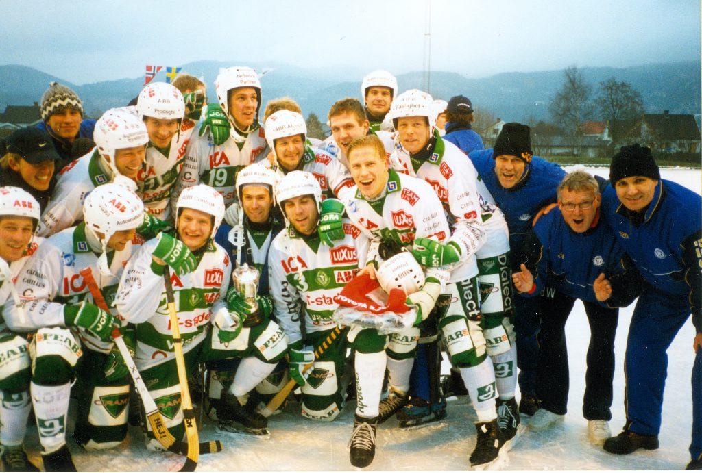 VSK:s lag i Europacupen 1998.