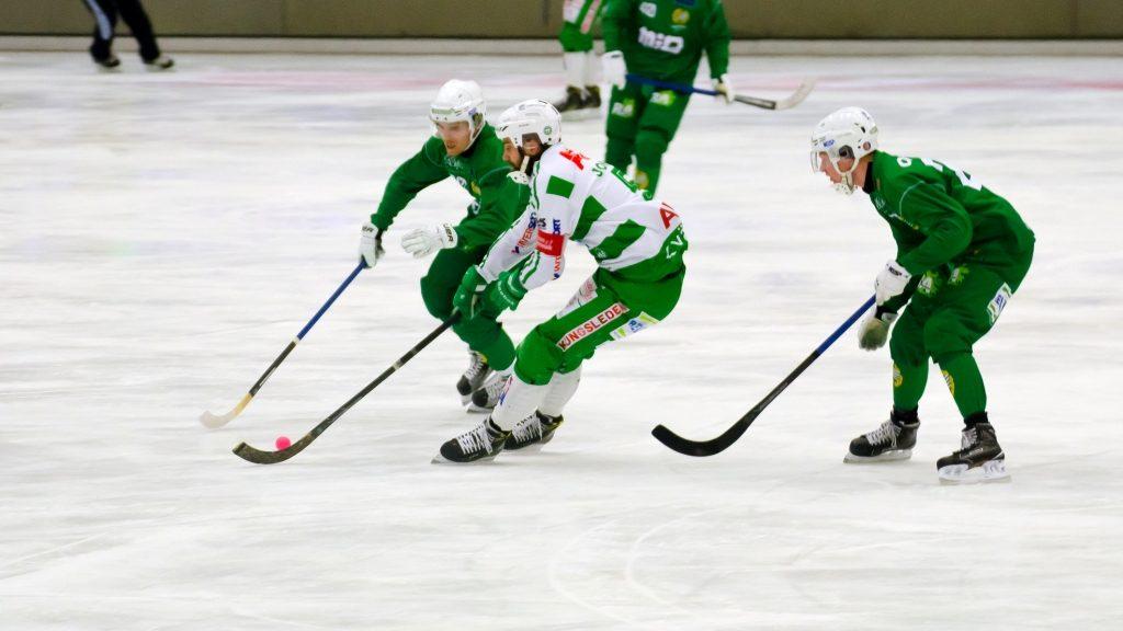 Magnus Joneby spelade på topp som om han inte gjort annat.