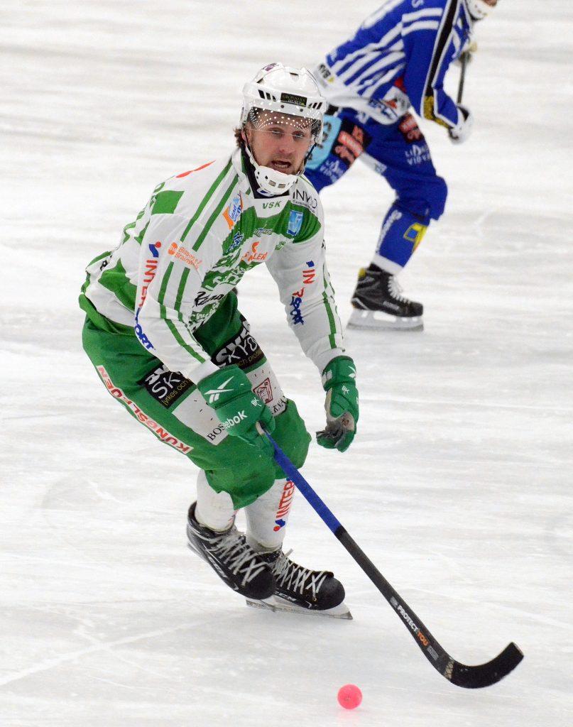 Robin Folkesson gjorde sin bästa mach i Grönvitt.