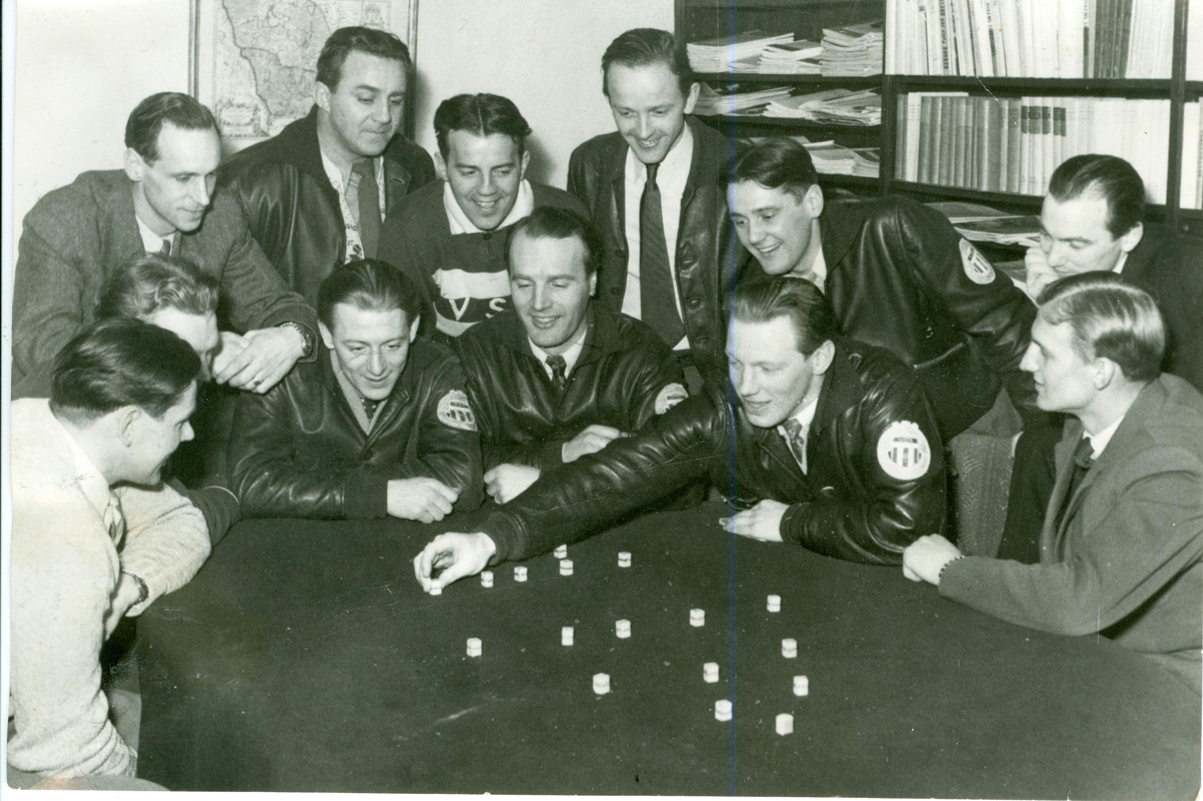 VSK taktiksnackar, tidigt 1950-tal.
